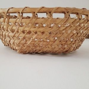 Hand crafted Farmhouse wicker basket
